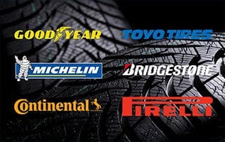 Whether it's Michelin, Pirelli, Bridgestone, or Continental, we carry all major brands of tires at competitive prices. We will do our best to match or beat any other quote you receive.