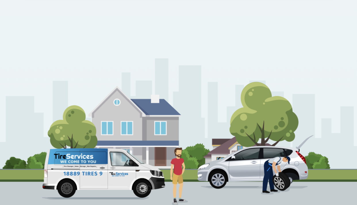 Tire Butler in RBC Drive Illustration